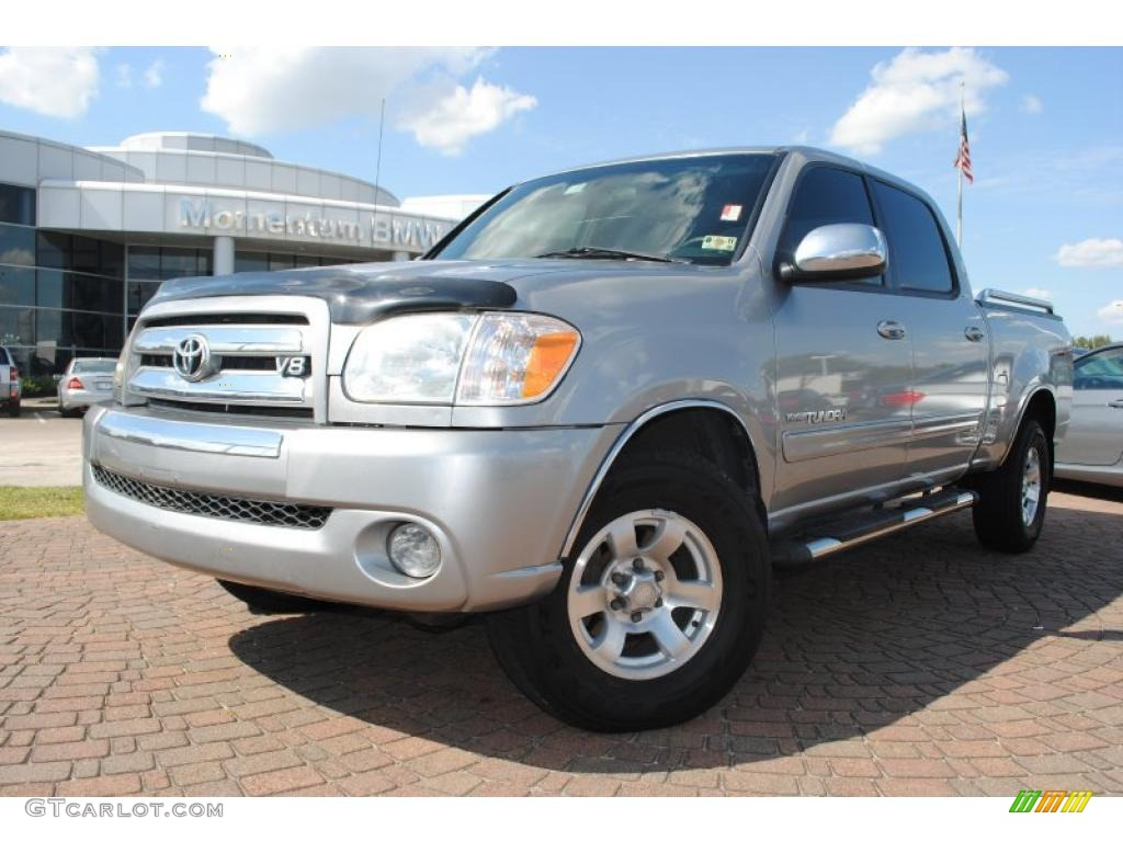 2005 Tundra TSS Double Cab - Silver Sky Metallic / Light Charcoal photo #1