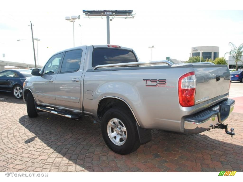 2005 Tundra TSS Double Cab - Silver Sky Metallic / Light Charcoal photo #3