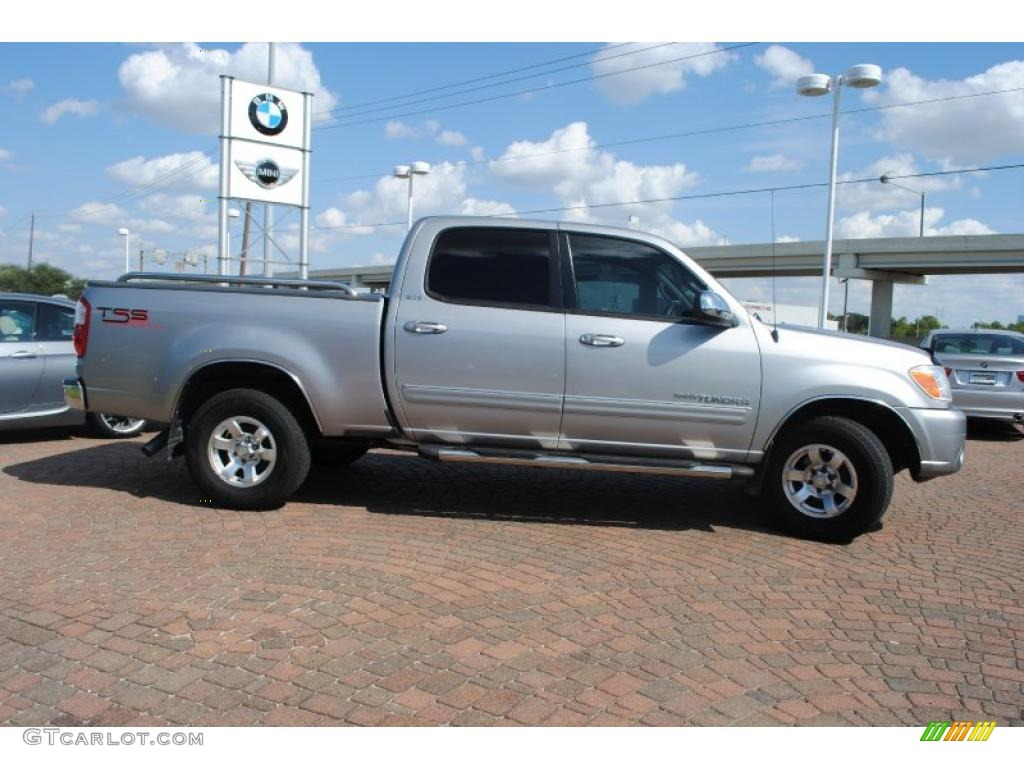2005 Tundra TSS Double Cab - Silver Sky Metallic / Light Charcoal photo #6