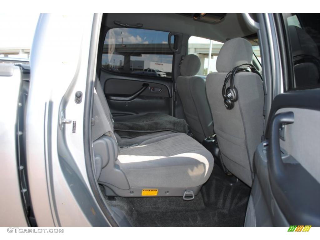 2005 Tundra TSS Double Cab - Silver Sky Metallic / Light Charcoal photo #10