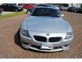 2007 Titanium Silver Metallic BMW M Coupe  photo #8