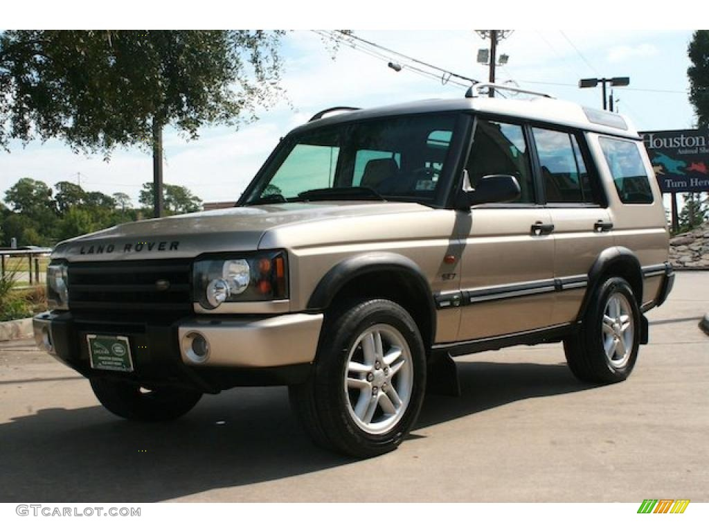 white gold 2003 land rover discovery se7 exterior photo 38385126. Black Bedroom Furniture Sets. Home Design Ideas