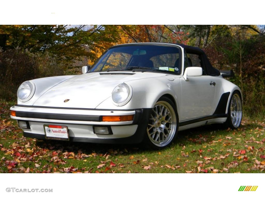 grand prix white 1988 porsche 911 turbo cabriolet exterior photo 38387847. Black Bedroom Furniture Sets. Home Design Ideas