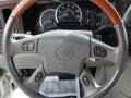 2003 Cadillac Escalade Pewter Interior Steering Wheel Photo