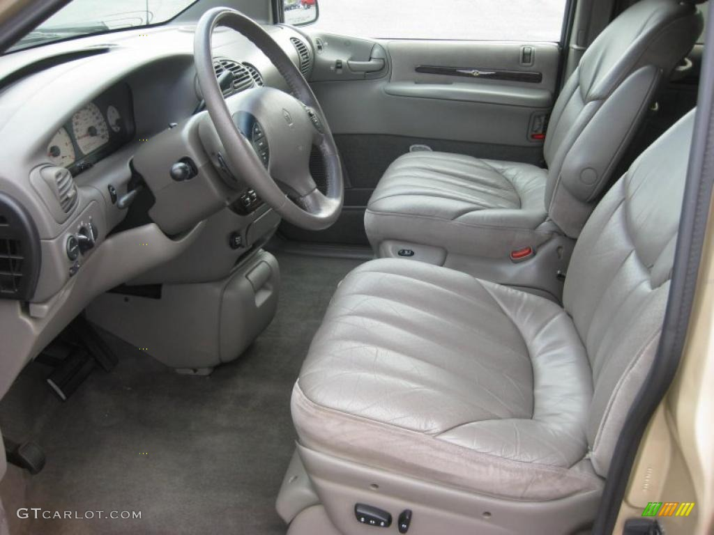 Camel interior 1999 chrysler town country limited photo - 2001 chrysler town and country interior ...