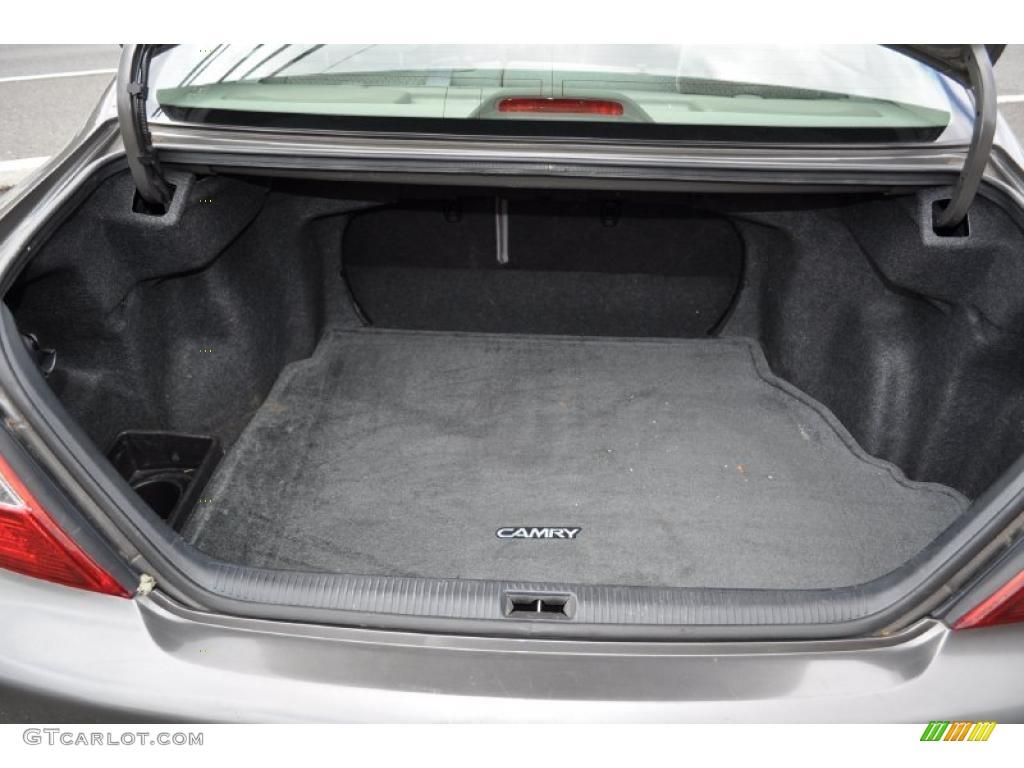 Toyota Camry: Trunk