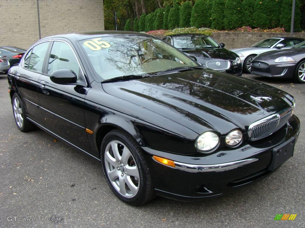ebony black 2005 jaguar x type 3 0 exterior photo 38392440. Black Bedroom Furniture Sets. Home Design Ideas