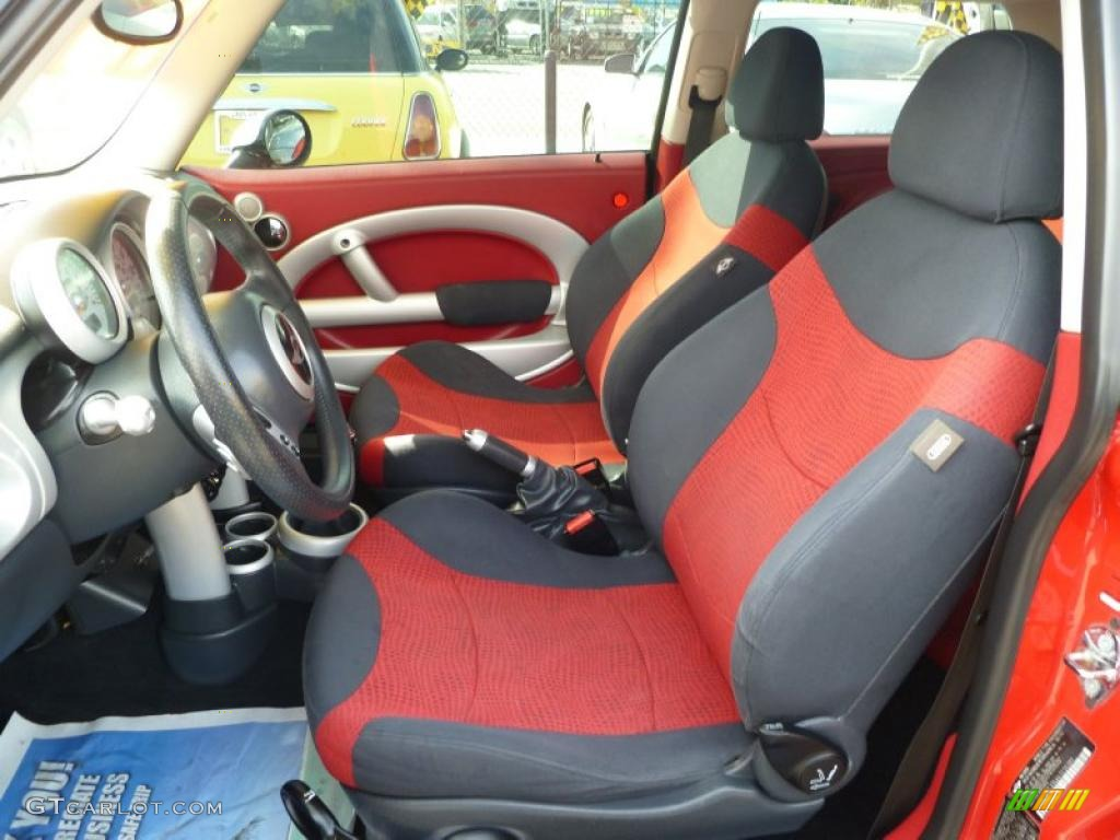 red black interior 2004 mini cooper hardtop photo. Black Bedroom Furniture Sets. Home Design Ideas