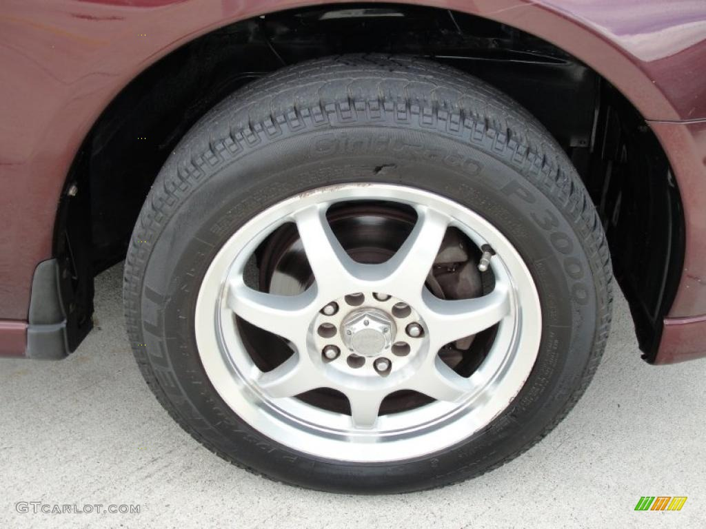 1999 Mitsubishi Galant ES Custom Wheels Photos