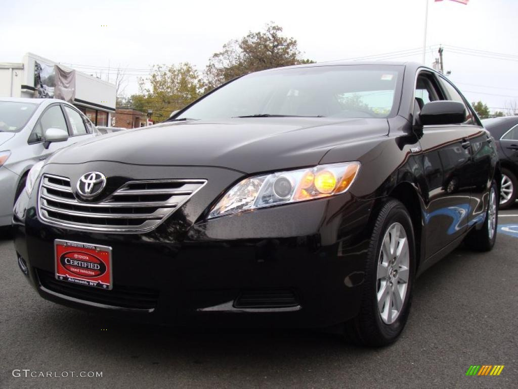2008 black toyota camry hybrid 38342860 photo 3 car color galleries. Black Bedroom Furniture Sets. Home Design Ideas