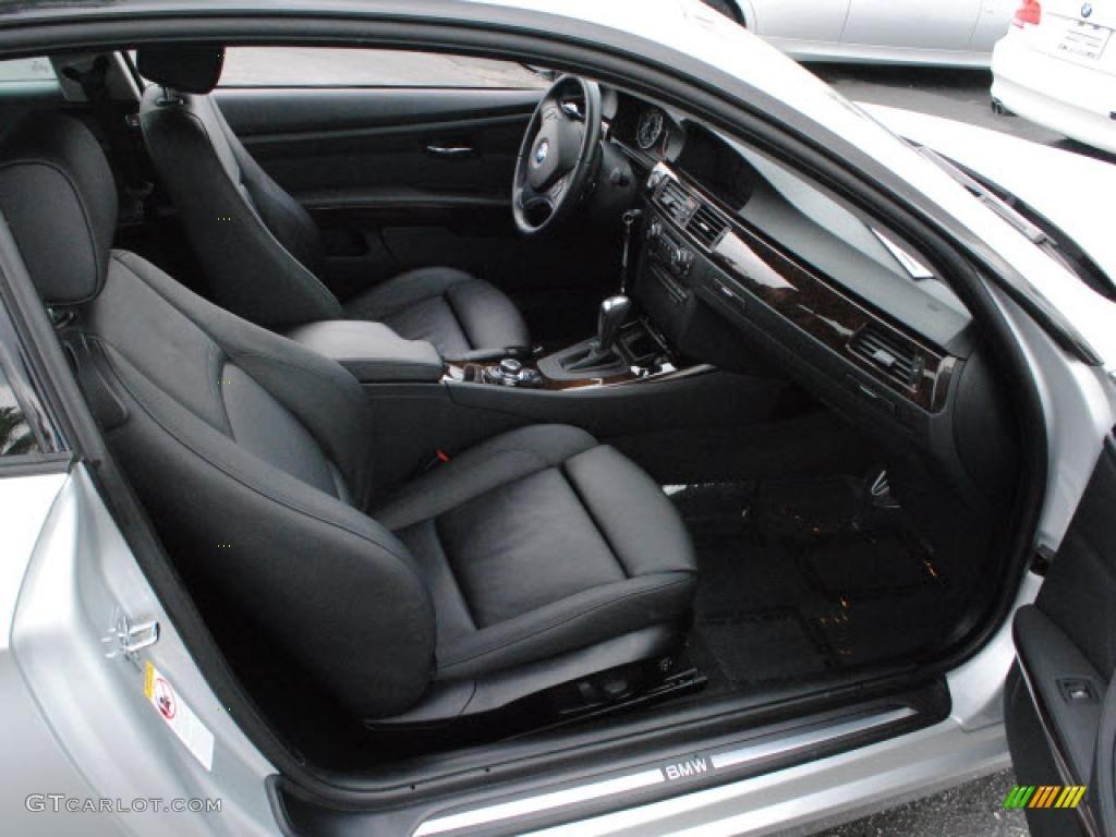 Black Interior 2009 BMW 3 Series 328i Coupe Photo