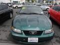 2001 Dark Highland Green Ford Mustang V6 Coupe  photo #25