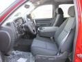 Ebony Interior Photo for 2011 Chevrolet Silverado 1500 #38403952