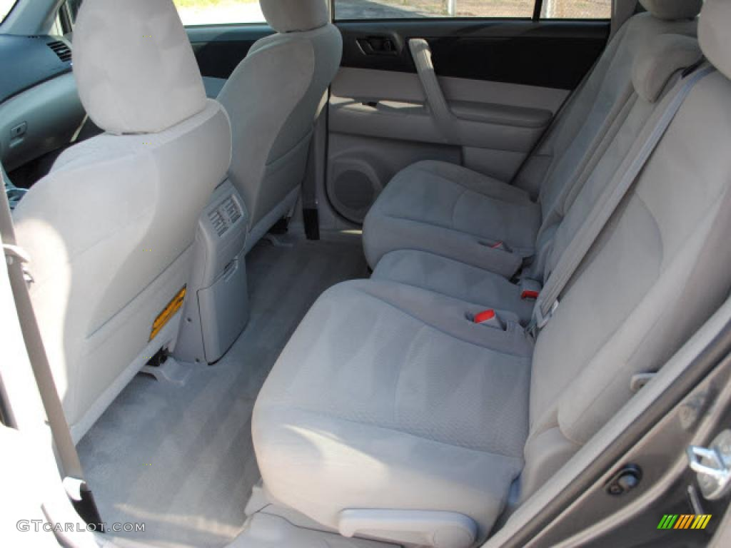 2010 Toyota Highlander Standard Model Interior Photo 38404056