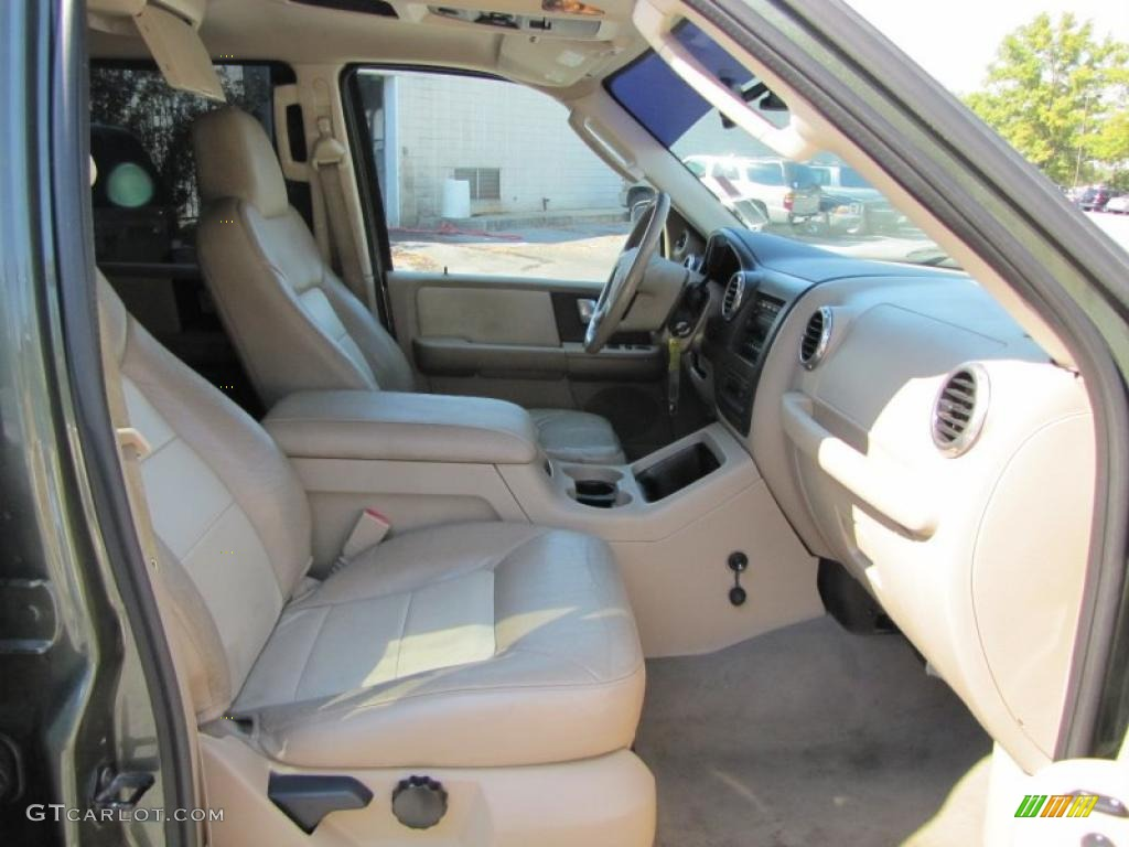 Medium Parchment Interior 2003 Ford Expedition Eddie Bauer