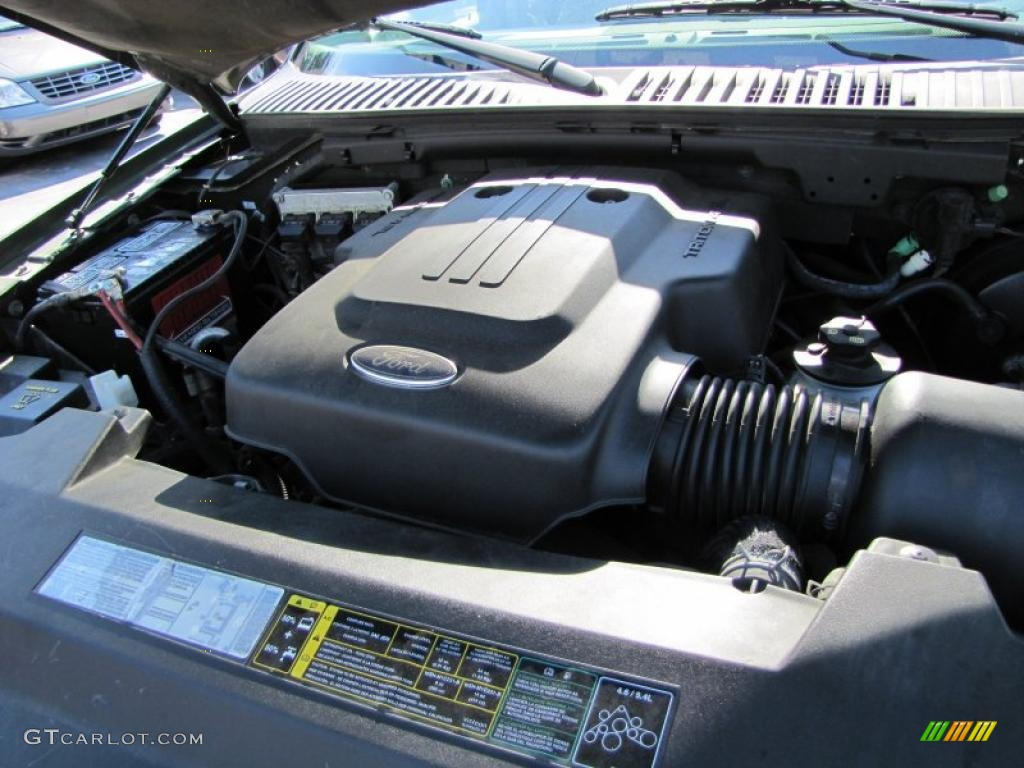 2003 ford expedition eddie bauer 4 6 liter sohc 16 valve triton v8 engine photo 38404260. Black Bedroom Furniture Sets. Home Design Ideas