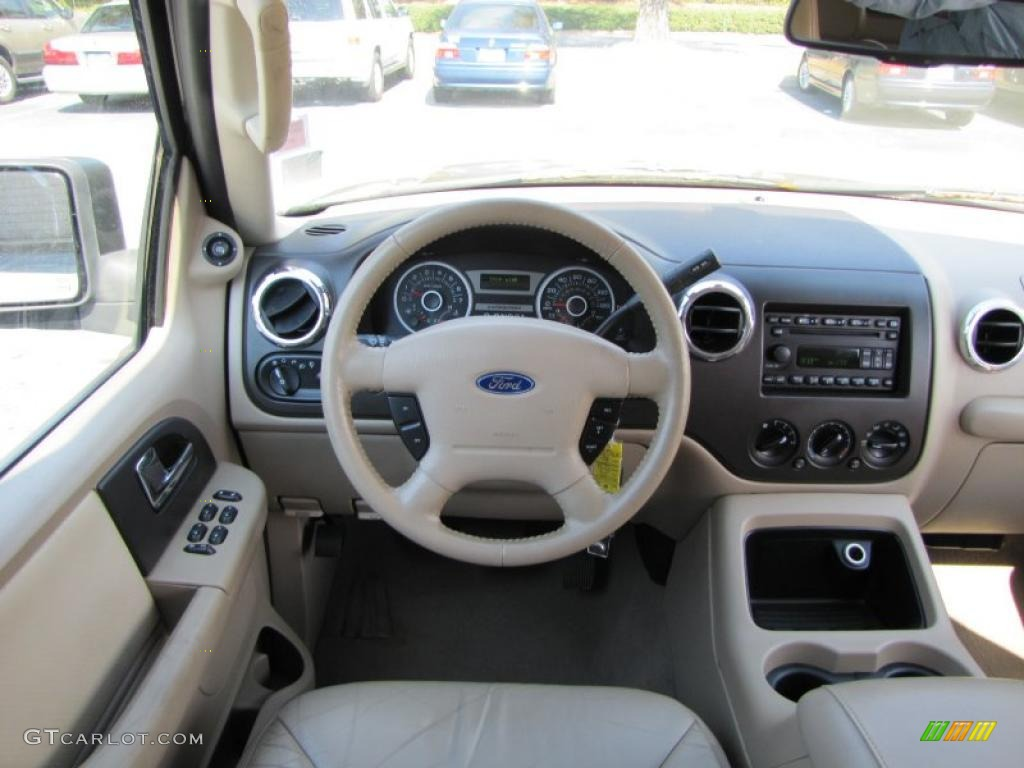 2006 Ford Expedition Xlt Medium Parchment Dashboard Photo