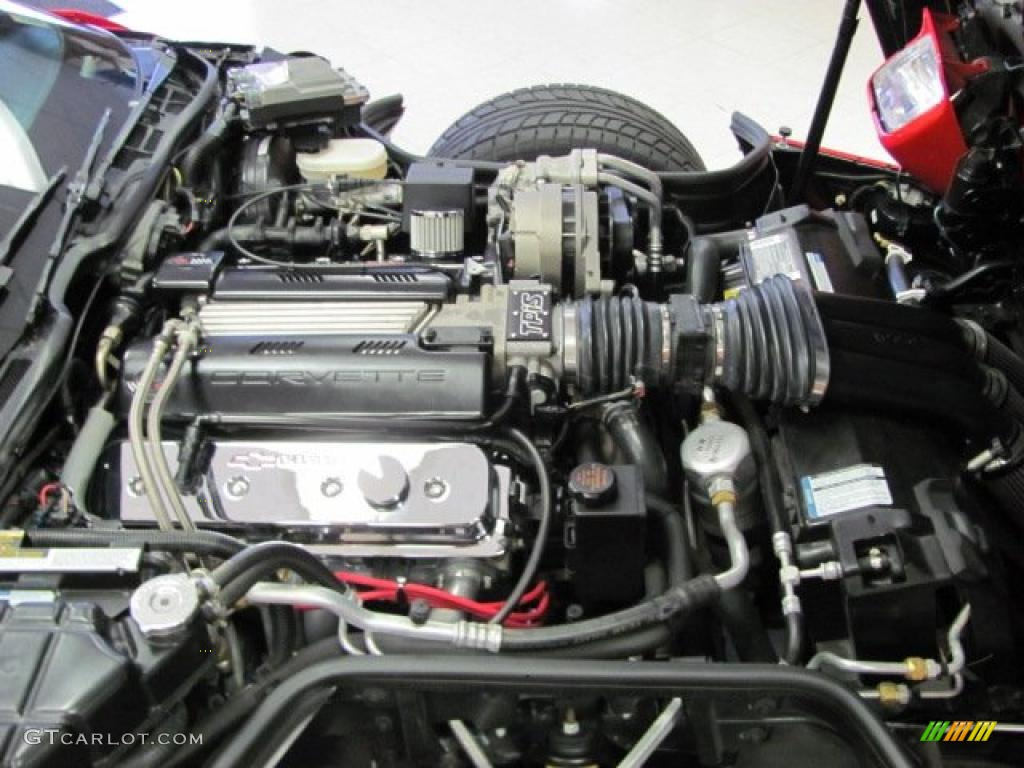 1995 Chevrolet Corvette Coupe 57 Liter OHV 16 Valve LT1