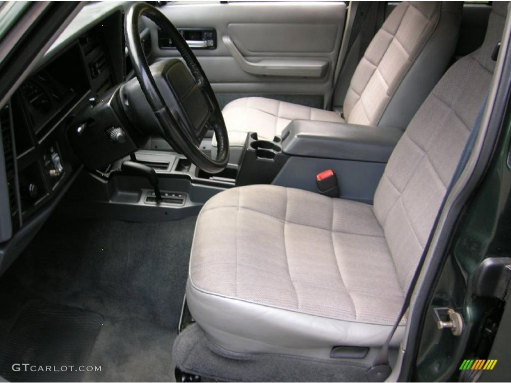 Gray interior 1996 jeep cherokee classic 4x4 photo - 1996 jeep grand cherokee interior ...
