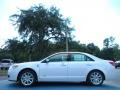 White Platinum Tri-Coat - MKZ Hybrid Photo No. 2