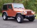Amber Fire Pearl 2001 Jeep Wrangler Gallery