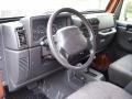 Agate Black 2001 Jeep Wrangler Interiors