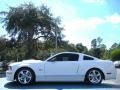 2007 Performance White Ford Mustang Shelby GT Coupe  photo #2