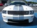 2007 Performance White Ford Mustang Shelby GT Coupe  photo #8