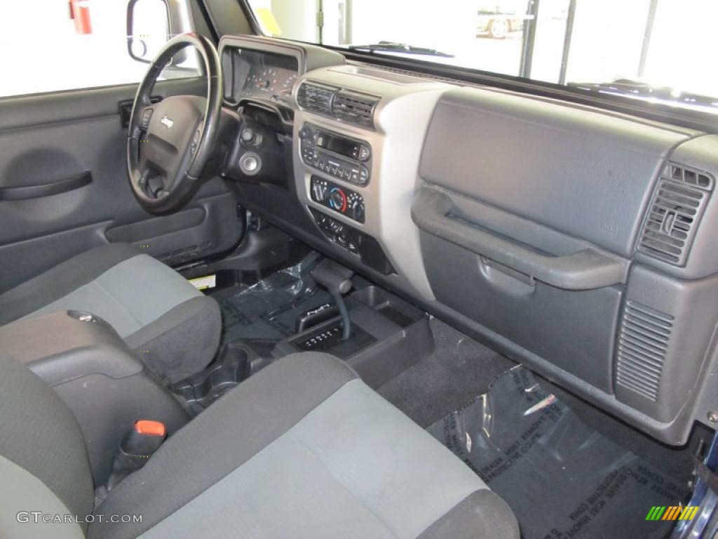 2006 Jeep Wrangler Sport 4x4 Golden Eagle Interior Photo 38421665