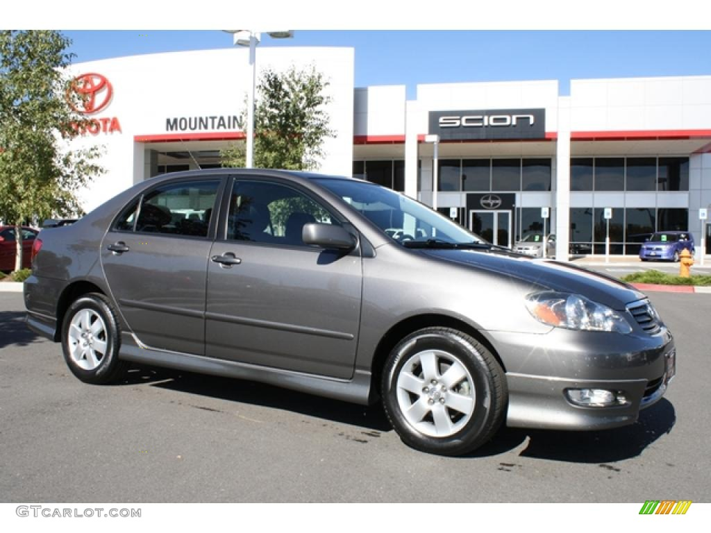 2006 phantom gray pearl toyota corolla s 38412557 car color galleries. Black Bedroom Furniture Sets. Home Design Ideas