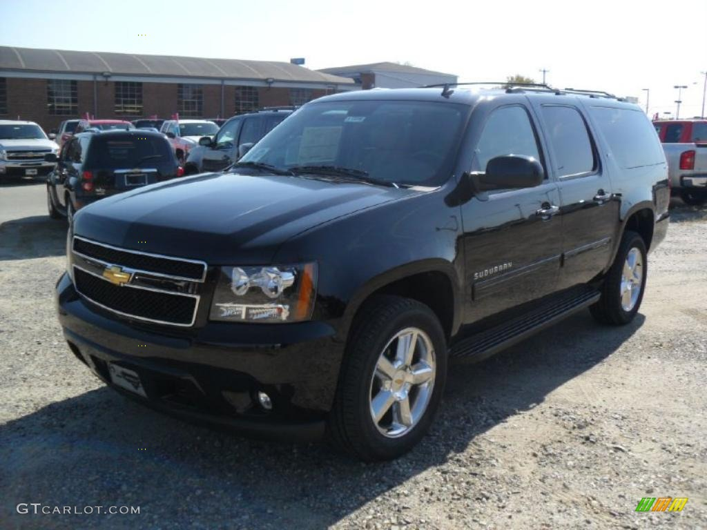 2011 black chevrolet suburban lt 4x4 38413331 gtcarlot. Black Bedroom Furniture Sets. Home Design Ideas