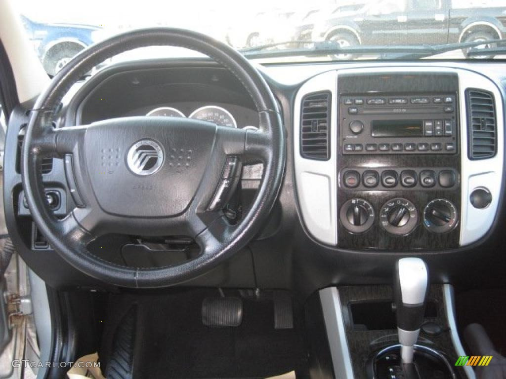 2005 mercury mariner v6 premier 4wd black dashboard photo. Black Bedroom Furniture Sets. Home Design Ideas