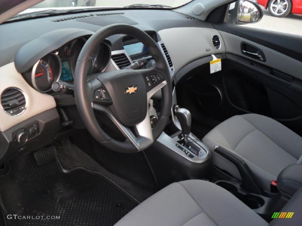 Medium Titanium Interior 2011 Chevrolet Cruze Lt Photo 38429473