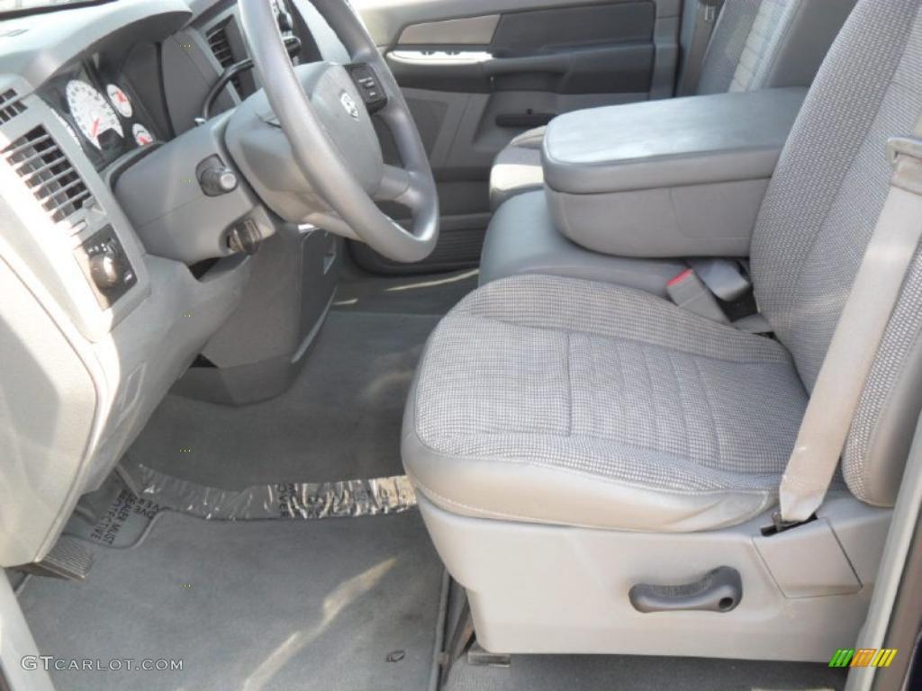Medium Slate Gray Interior 2008 Dodge Ram 1500 Trx Quad Cab Photo 38431269