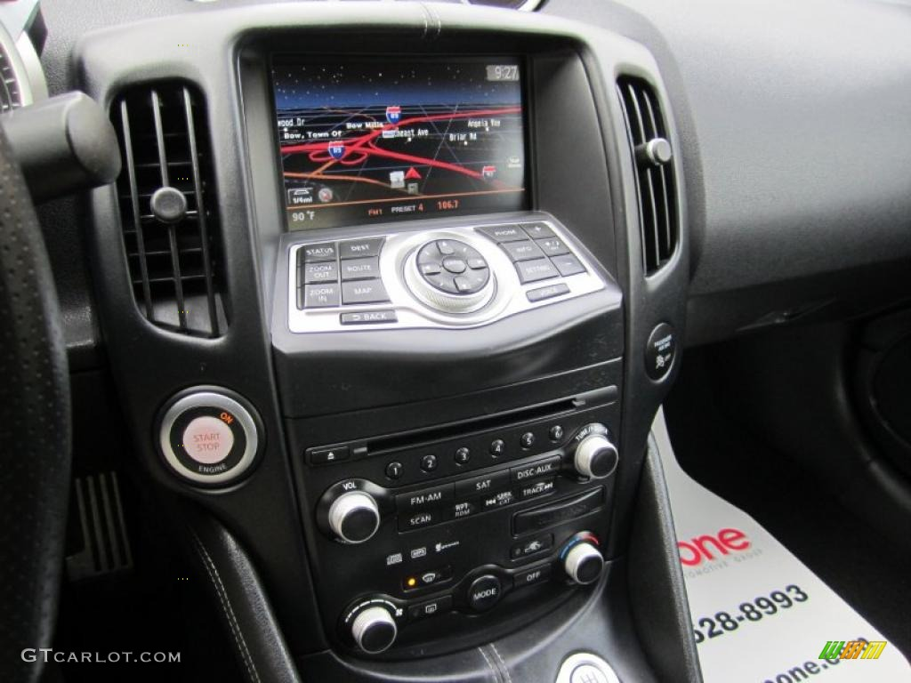 2009 Nissan 370Z Sport Touring Coupe Navigation Photo ...
