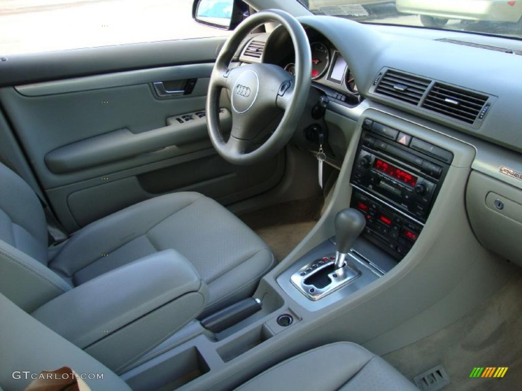 Beige Interior 2002 Audi A4 1 8t Quattro Avant Photo