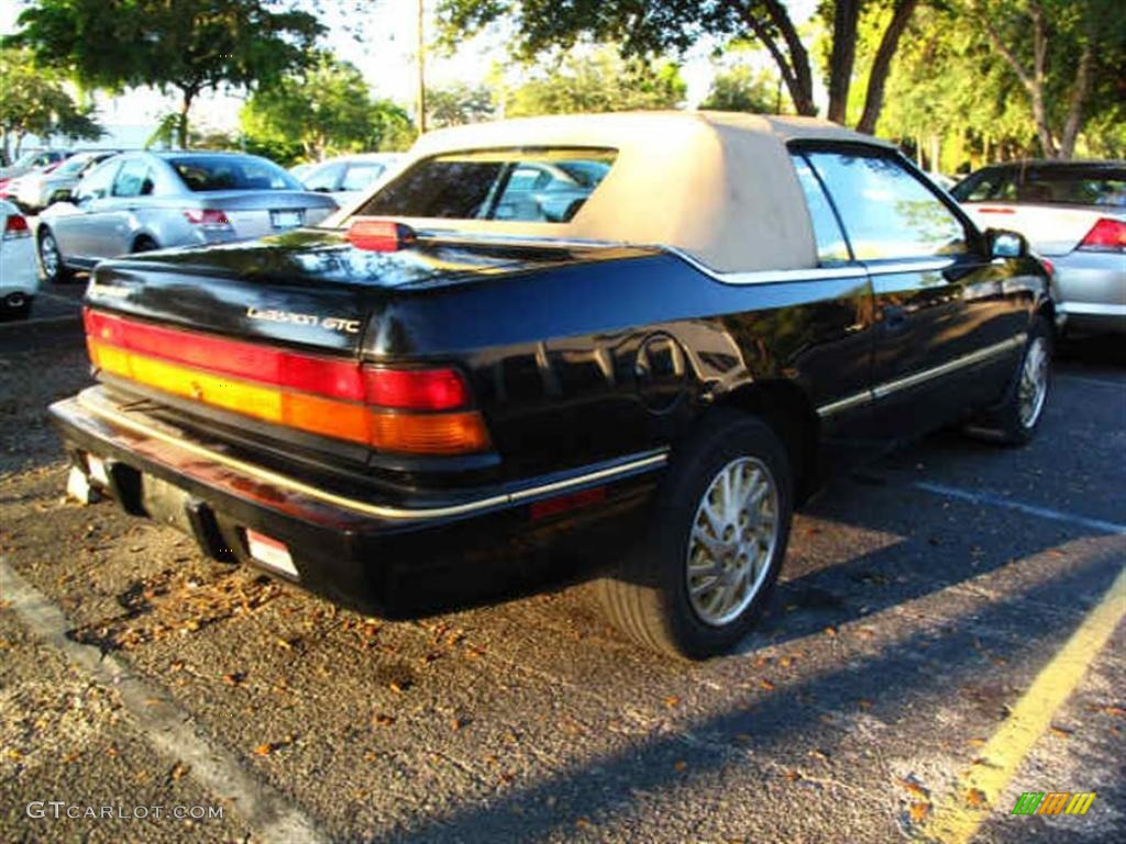 1995 spruce pearl chrysler lebaron gtc convertible. Black Bedroom Furniture Sets. Home Design Ideas