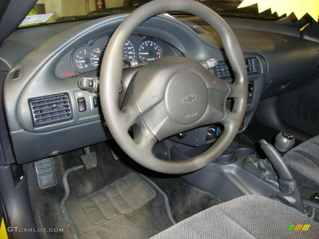 2005 chevrolet cavalier ls sport coupe graphite gray steering wheel photo 38456353. Black Bedroom Furniture Sets. Home Design Ideas