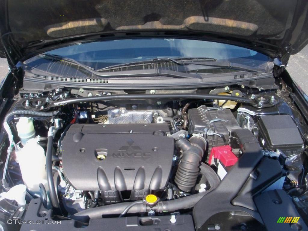 2011 Mitsubishi Lancer Gts 2 4 Liter Dohc 16 Valve Mivec 4