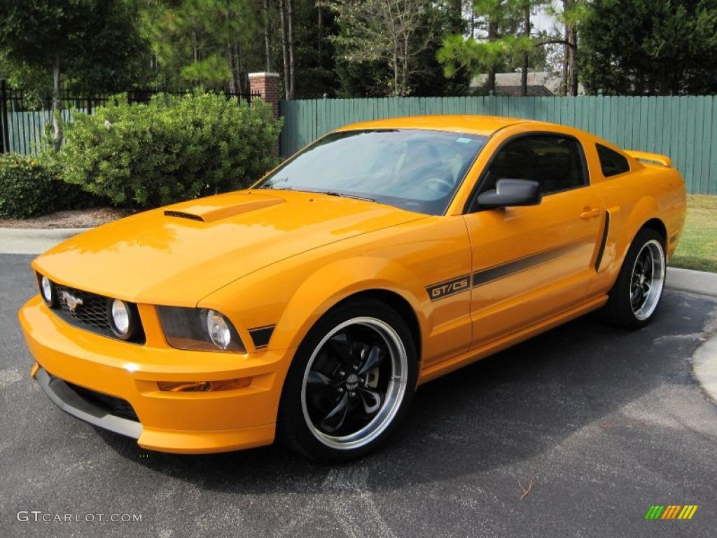 2008 grabber orange ford mustang gt cs california special coupe 38412762 car. Black Bedroom Furniture Sets. Home Design Ideas