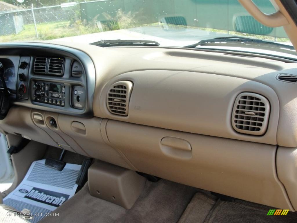 1998 Dodge Ram 1500 Laramie Slt Extended Cab Beige Dashboard Photo 38475795