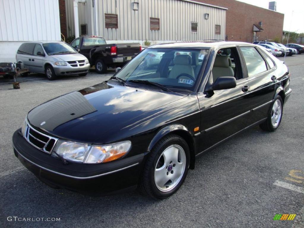 Saab 1997 saab 900 : Black 1997 Saab 900 SE Turbo Sedan Exterior Photo #38496383 ...