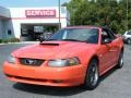 Competition Orange 2004 Ford Mustang Gallery