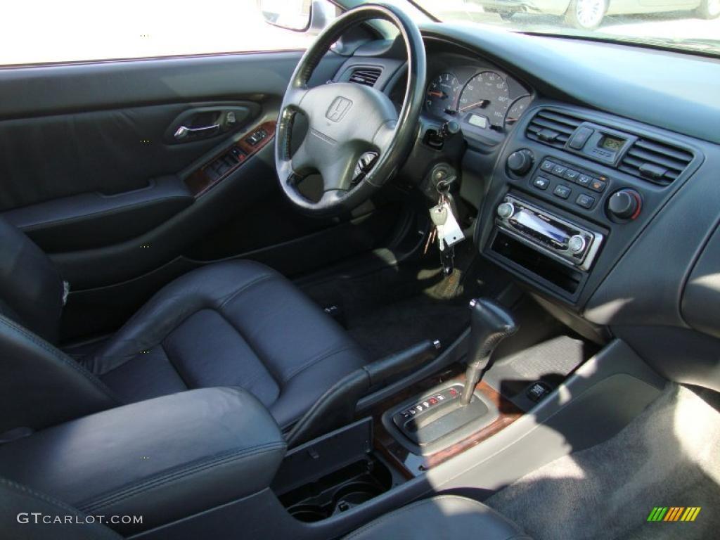 Charcoal Interior 2000 Honda Accord Ex L Coupe Photo 38499723