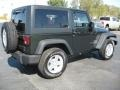 2011 Natural Green Pearl Jeep Wrangler Sport S 4x4  photo #4