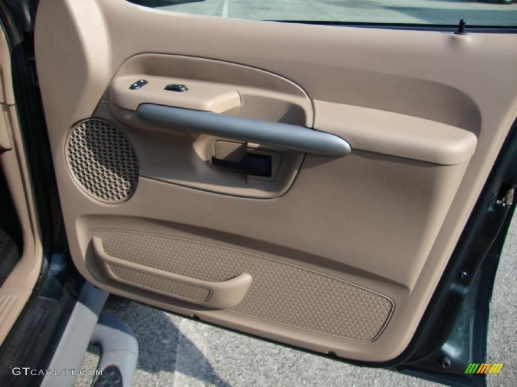 2002 Ford Explorer Sport Trac 4x4 Medium Prairie Tan Door Panel Photo 38502231
