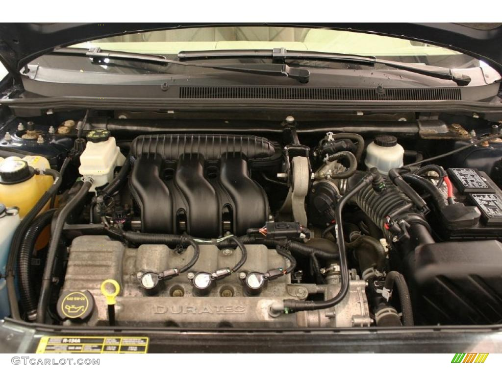 2005 Ford Five Hundred Se 3 0l Dohc 24v Duratec V6 Engine Photo Ford Taurus Engine  Diagram 2005 Ford 500 Engine Diagram