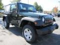 2011 Natural Green Pearl Jeep Wrangler Sport 4x4  photo #4