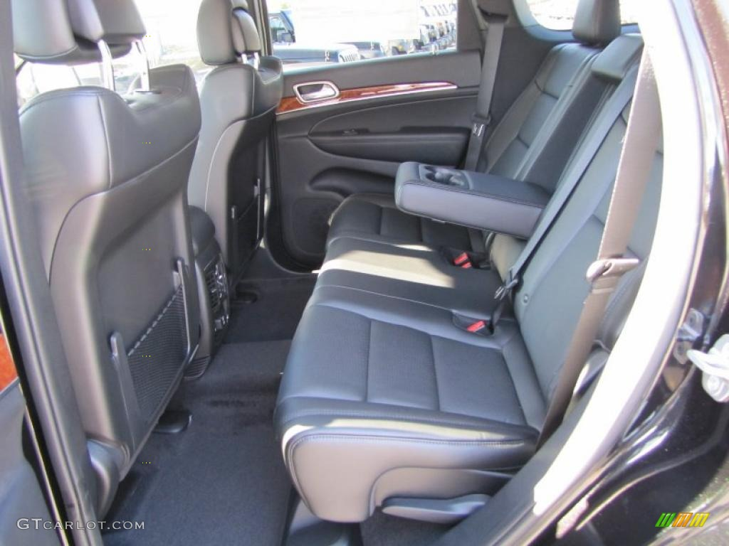 Black Interior 2011 Jeep Grand Cherokee Limited Photo 38515904