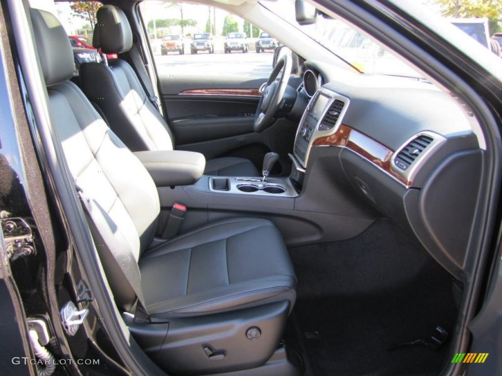 Black Interior 2011 Jeep Grand Cherokee Limited Photo 38515963